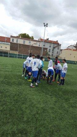 senior match de coupe - olympique club d'ivry