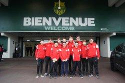 L'équipe U15 à la Beaujoire - FOOTBALL CLUB TALMONDAIS