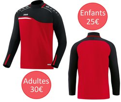 Sweat col rond competition 2.0