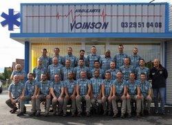 Photos d'équipe 2017-10-01 chez sponsor N°1 Ambulances Paul VOINSON - Racing Club Today Saint-Dié