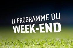 RCMURET : PLANNING DU WEEK-END