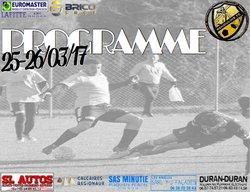 Programme du 25-26/03/17 - REMOULINS FC