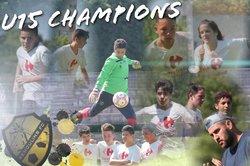 Nos U15 aussi Champions - REMOULINS FC