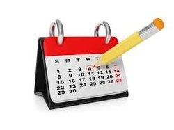 Les calendriers des PO sont en lignes