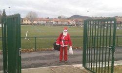 Le père Noël au stade Boncompain - RETOURNAC SPORTIF