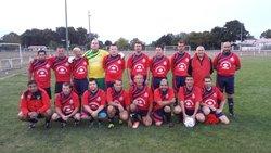 L'équipe  contre Vendays - Cissac foot loisir veteran