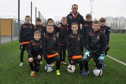 Equipe U11 prête pour la 2ème phase de championnat - Sports Athletiques Quercitains