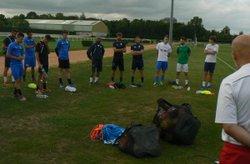Reprise entrainement National 3 - Sablé FC