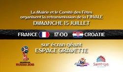 FINALE FRANCE/CROATIE