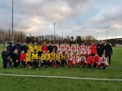 Match nul 2 à 2 entre nos U16 et St Quentin