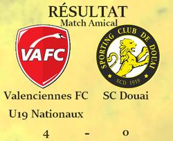 RÉSUMÉS DU MATCH VAFC U19 x SC DOUAI