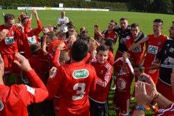 4ème Tour Coupe de France SC LANNILIS - AS PLOBANNALEC LESCONIL 2 à 1 - SPORTING CLUB LANNILIS