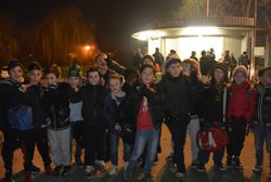 Eskort Kids SRFC-STADE REIMS le 22/01/2015 - SPORTING CLUB LE RHEU