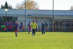 Match du 5eme tour de coupe du district à ST AIGNAN B - FC LA MONTAGNE SENIORS