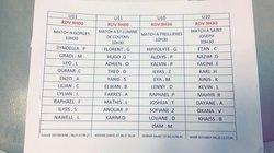 U10/11 Convocations samedi 9/12 - SJPF NANTES