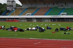 Reprise de l'entrainement 27.07.2015 groupe DH - Stade Sottevillais Cheminot Club