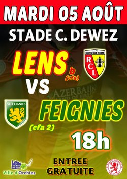 Lens CFA VS Feignies CFA2