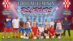 La section Féminine recrute ! - STADE RUFFECOIS
