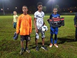 Remise des récompenses du trio de tête du challenge des sections U13 et U15 - Association Le Stade Spiritain