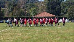 Arlanc - Sugères !!! victoire 0-2 le dimanche 14.09.14 en coupe seniquette - AS Sugères