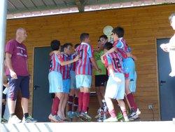 Les U13 remportent encore le tournoi du Confluent - TARASCON FOOTBALL CLUB