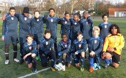 Match U15-2 - UAC Paris 12 vs SCC Chennevières 0-3 - UAC Paris 12