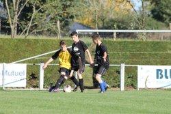 Match amical U15 Ballée / Val de Sarthe Samedi 18 Octobre 2014 - Union Club Auvers Poille