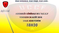 Assemblée Générale du Club de l'U.C.C.F aura lieu le 24/08/2018  S. J-FORTIN - UNION CHATILLONNAISE COLOMBINE FOOTBALL