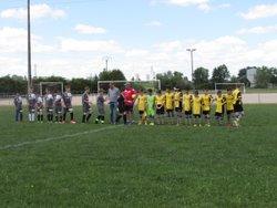 Frotey / Colombe U 13 B - Haut Val de Saône . Match nul 2 a 2 - US FROTEY LES VESOUL