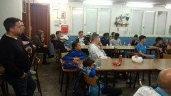 match de Marseille au club house - US BLANZYNOISE FOOT