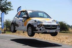 Clin d'oeil pour un équipage de Rallye du Vaucluse.