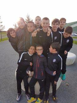 """Nos U10 """"Escort Kids"""" lors du match Bordeaux - Montpellier 18/03/2017 - UNION SPORTIVE LUDONNAISE"""