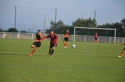 Reportage photos du match amical des U17 contre Mesnil Esnard - Union Sportive Luneraysienne
