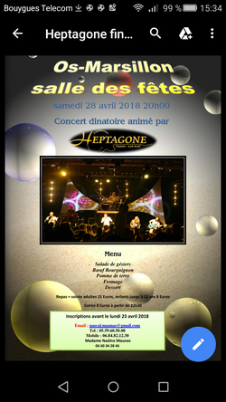 soiree concert dinatoire heptagone - us os marsillon