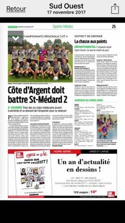 Match très important ce week end (tous à Dartial) - F C Médoc côte d' Argent