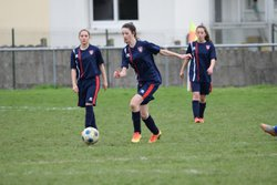 11/03/17 - U18F 1-8 Sablé FC - Union Sportive de St Pierre la Cour