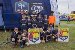 jounée départementale u13 a doué la fontaine le 18/06/16 avec une équipe très motivée ils ont fait honneur en représentant le club de l'us chateauneuf - USC Chateauneuf sur Sarthe