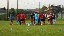 Entrainement U15 - Jeudi 11 Septembre 2014 - UNION SPORTIVE D'ETREPAGNY