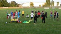 Entrainement des SENIORS - Jeudi 11 Septembre 2014 - UNION SPORTIVE D'ETREPAGNY