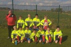 Notre équipe U10 lors du plateau à Bierne - union sportive football Armbouts Cappel