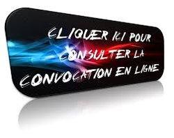 CONVOCATION SENIORS DU 10/05/2015