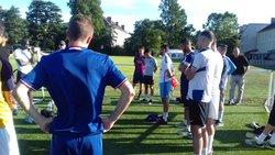 Reprise de  l entrainement pour les seniors - UNION SPORTIVE LE POINCONNET FOOTBALL