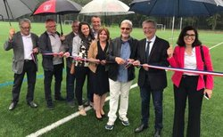 Inauguration terrain SYNTHETIQUE - UNION SPORTIVE LE POINCONNET FOOTBALL