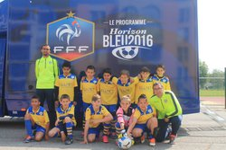 Rassemblement régionnal U/11 Challenge Henri Laggiard le 30 avril 2016 a mandelieu - Union Sportive Miramas