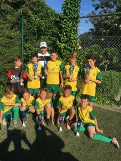 U10 - Petit album pour l'équipe de Lotfi - Union Sportive de Mandelieu la Napoule Football
