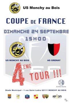 4 eme Tour de Coupe de France