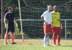 USM I / LAROQUE II 15-10-2017 - 1er minute, 1er corner et bientôt 1er but de Geoffrey - UNION SPORTIVE DE  MONTAUT