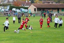 Interclubs U6 à U11 contre Pont-du-Château (11/11/17) - Union Sportive des Martres-de-Veyre Football