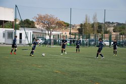 Lespignan Montady 2 - USO (U15, 3ème Division, 21ème journée, 4-3) - 07 avril 2018 - UNION SPORTIVE OLYMPIQUE FLORENSAC PINET