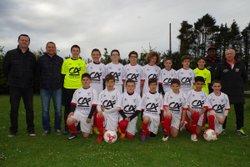 photo de l'équipe de Pluguffan-Plonéour Lanvern pour le Mondial 2017 - UNION SPORTIVE PLUGUFFAN
